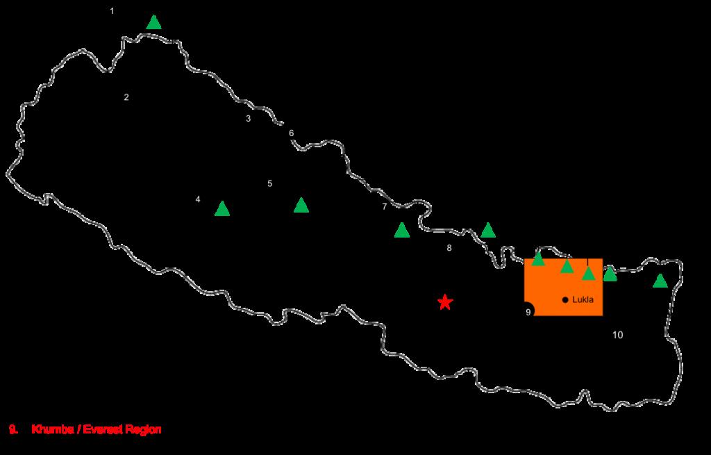 Khumbu-Valley-Trek-map