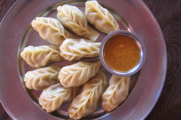 Food-and-Drinking-Water-on-an-Everest-Base-Camp-Trek-momo