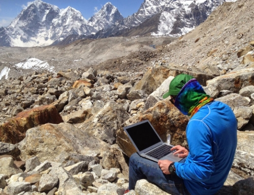 Internet Access On An Everest Base Camp Trek