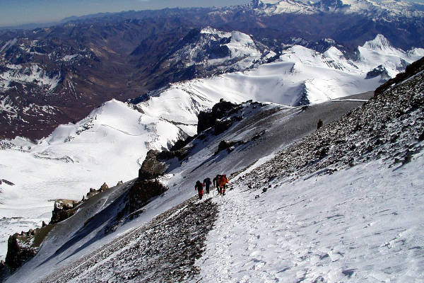aconcagua guidebooks