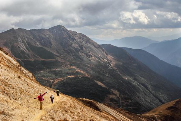 trekking-in-bhutan-weather