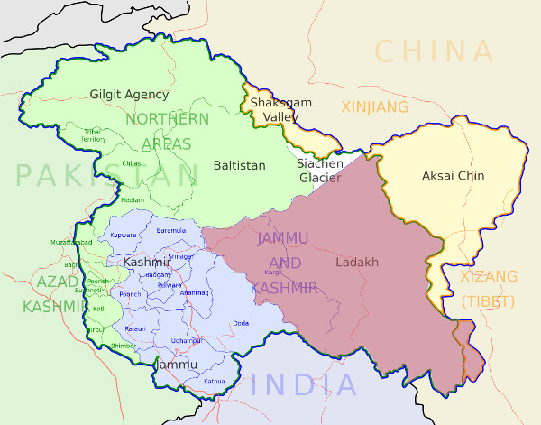 Chadar-trek-region-map