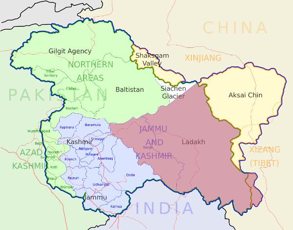 Chadar-trek-region-map