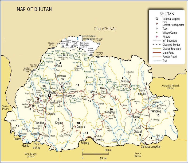 Bhutan Trekking Routes - Find The Right Hike In Bhutan on