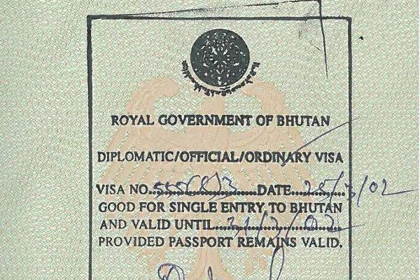 trekking-in-bhutan-visa
