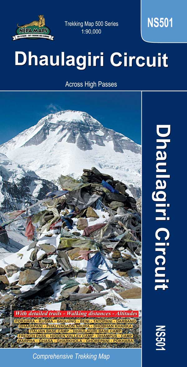 Dhaulagiri (Nepa Trekking Maps) Mountain IQ