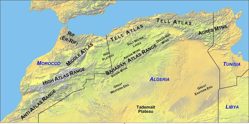 Atlas-Mountains-Map