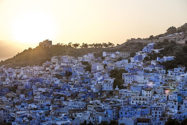 Trekking in Morocco Blue City Rif Mountains Trek