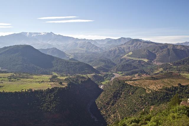 Trekking in Morocco M'Goun Massif Atlas
