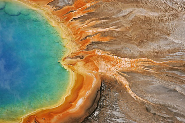 Grand Prismatic Spring Hike 1