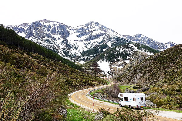 RV for Mountain Roads