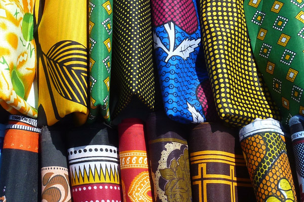 Things to do in Tanzania - Kanga Fabric