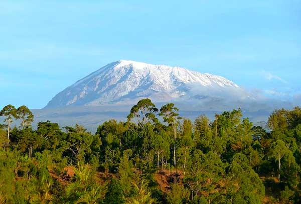 Kilimanjaro-in-January