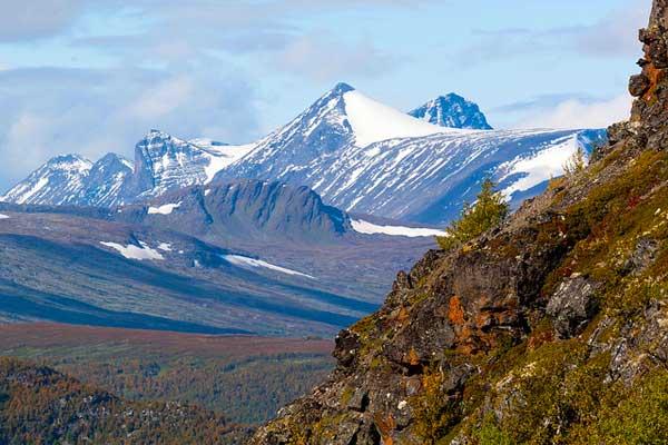 Kvikkjokk-Ammarnas-Kungsleden-Trail