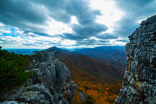 Chimney Tops Smoky Mountains
