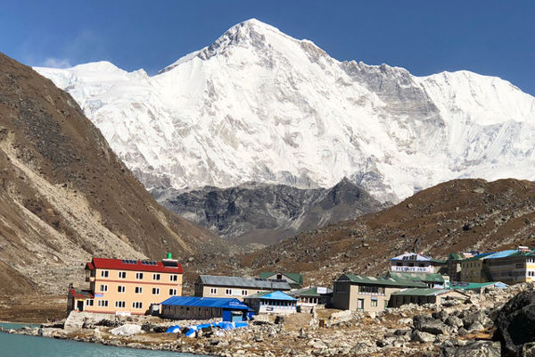 Goyko with Cho Oyu