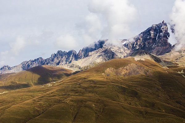 Mestia Mountains Caucasus