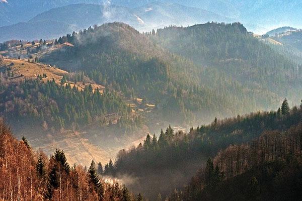 Piatra Craiului Mountains Romania