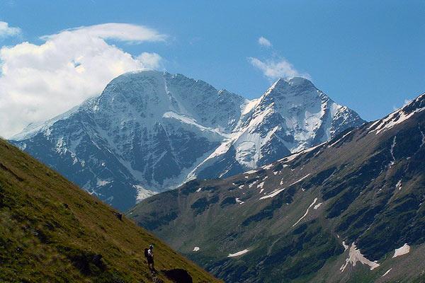 Summit Mount Elbrus Caucasus Mountains