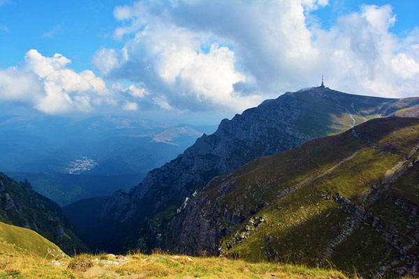 The Bucegi Mountains Romania