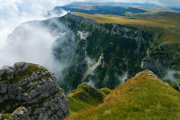 The Bucegi Mountains Romania