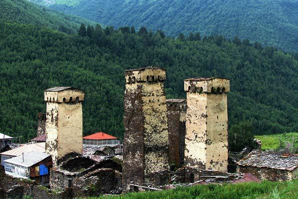 Caucasus Ushguli Svaneti