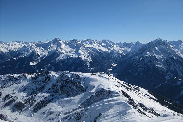 Zillertal Alps Austria