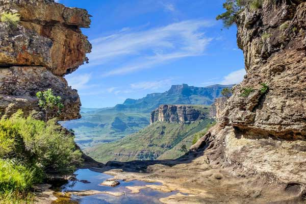 Drakensberg-Mountains