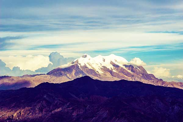 Illimani Mountain