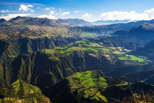 Simien - Unique Mountain Range UNESCO Heritage Site
