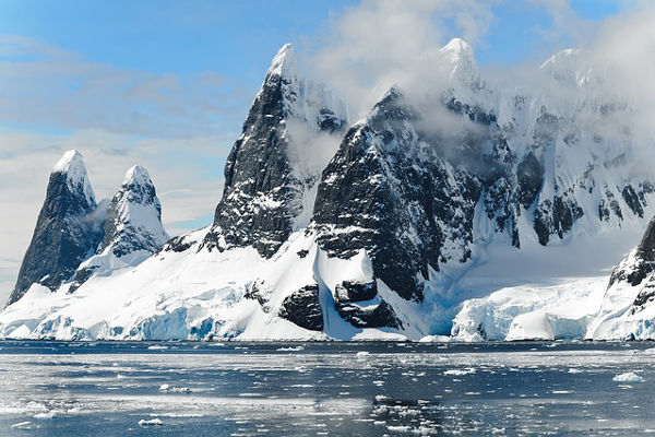 mountain ranges in antarctica