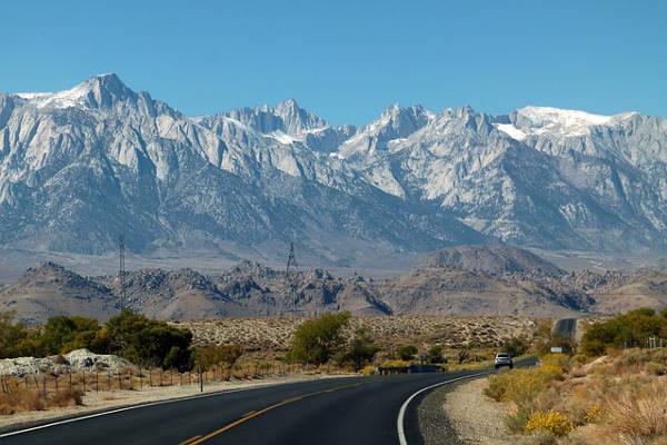 Sierra Nevada Mountains Yosemite Mount Whitney And El Capitan