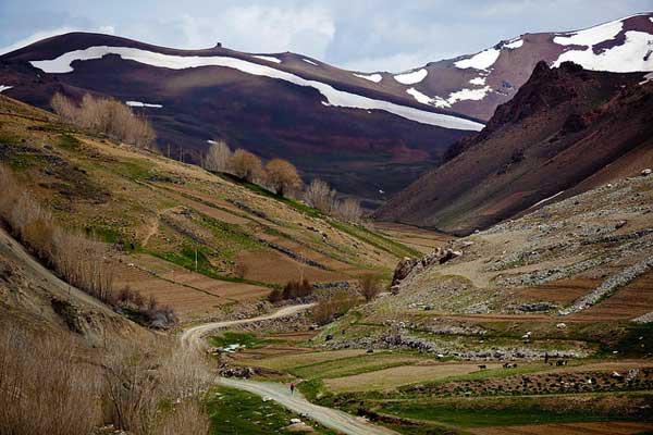 Shibar Pass Western Hindu Kush in Asia