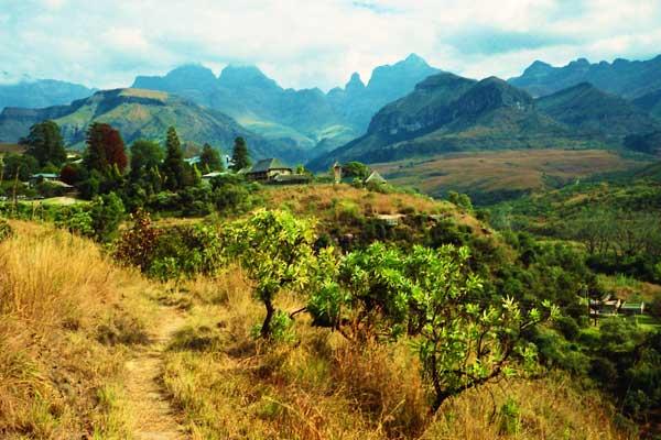 Cathedral Peak Trek in South Africa