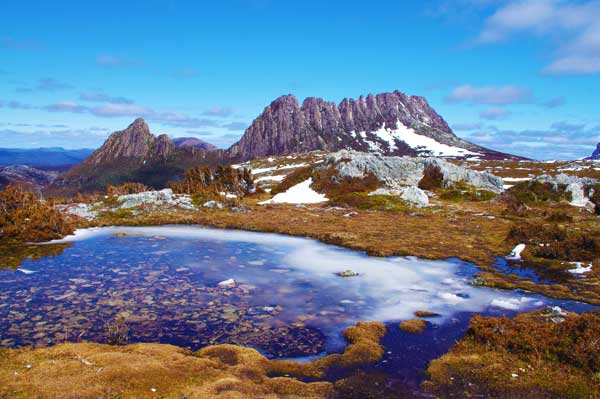 Cradle Mountain in Australia