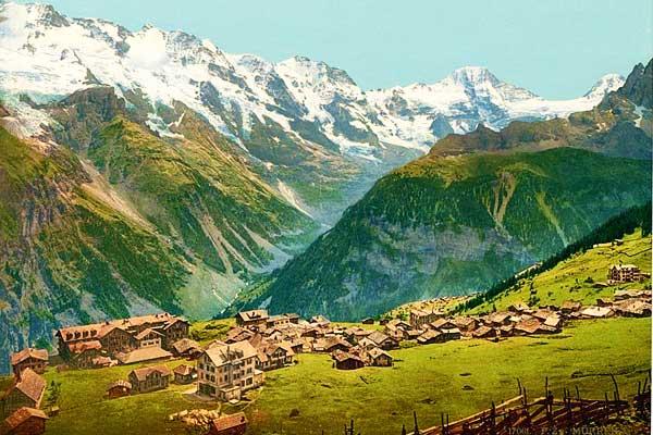 Faulhornweg Bernese in Switzerland