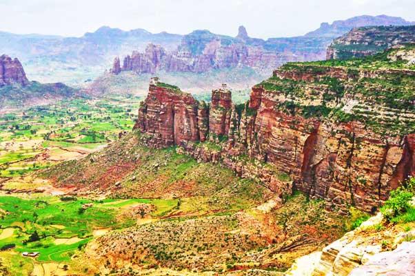 Gheralta Mountains Trail in Ethiopia