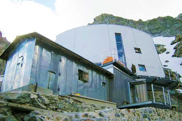 Gonella-Hut-Mont-Blanc-Italian-Route-Alps-Europe