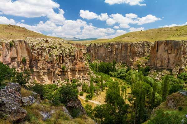 Ihlara Valley in Turkey