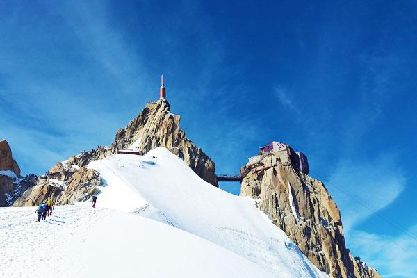 Mont-Blanc-Ascent