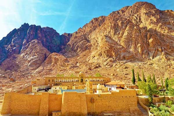 Mount Sinai Trail In Egypt