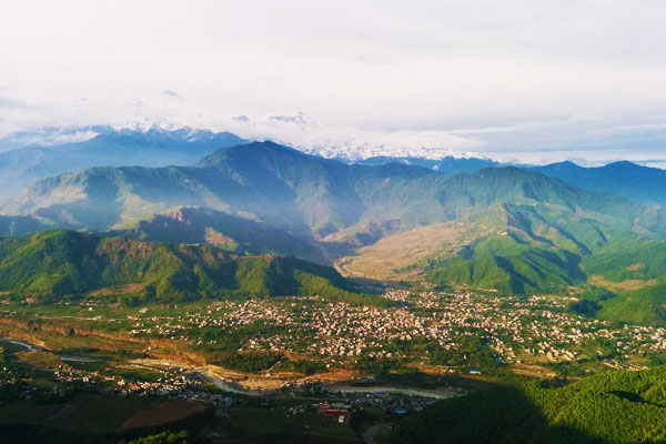 Sarangkot Hike from Pokhara in Nepal