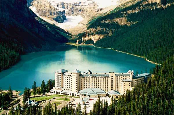 Fairmont Chateau Lake Louise in Canada