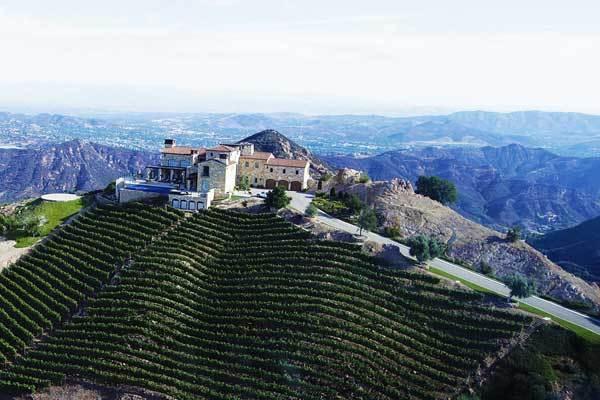 Malibu Rocky Oaks Estate Vineyard
