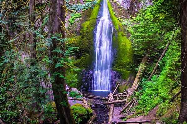 Marymere-Falls-Olympic-Park-USA-Washington