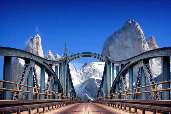 Best time to hike Patagonia-Bridge