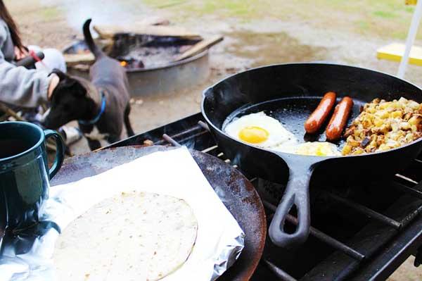 Camping Checklist Skillet