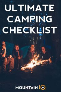 Camping Checklist - What To Bring Camping (Free PDF ...