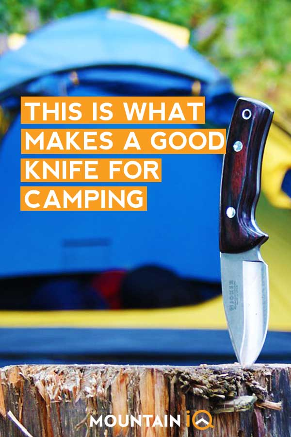 What Makes A Good Camping Knife