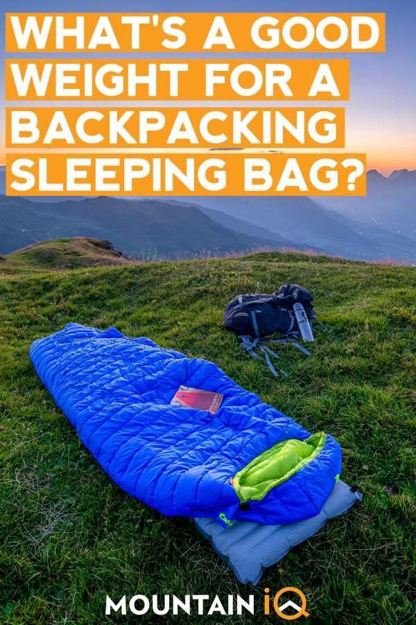 best-backpacking-sleeping-bag-under-100-